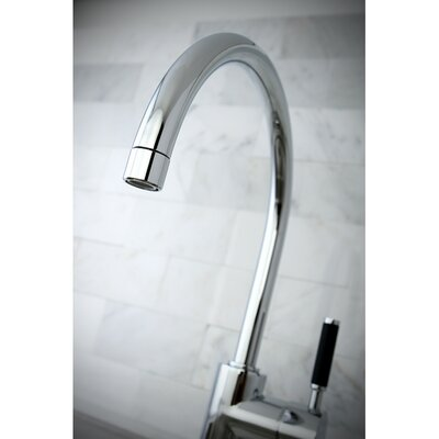 Kaiser Single Handle Vessel Sink Faucet Finish: Polished Chrome