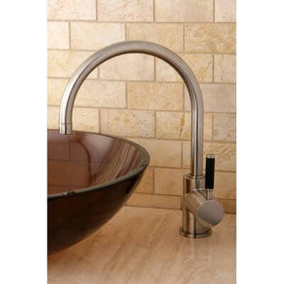 Kaiser Single Handle Vessel Sink Faucet Finish: Satin Nickel