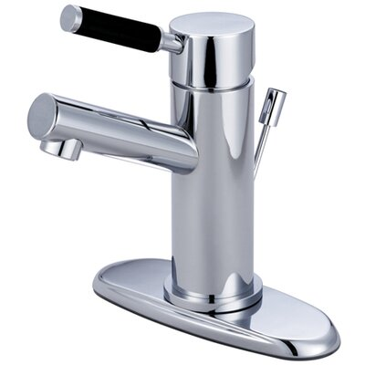 Kaiser Single Handle Bathroom Faucet with ABS Pop-Up Drain Finish: Polished Chrome