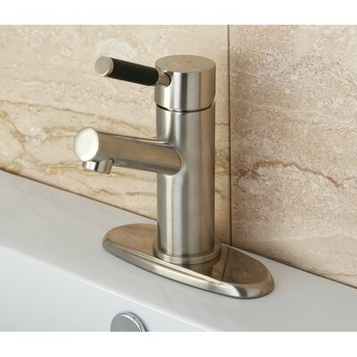 Kaiser Single Handle Bathroom Faucet with ABS Pop-Up Drain Finish: Satin Nickel