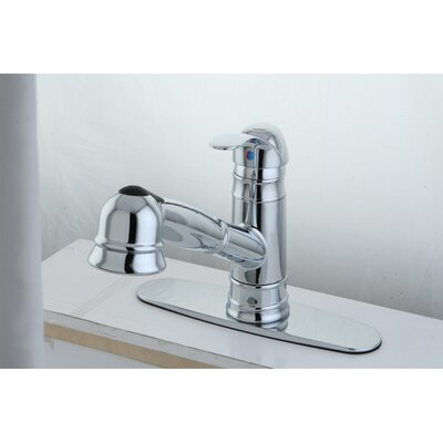 Eden Gourmetier Pull-Out Kitchen Faucet Finish: Polished Chrome
