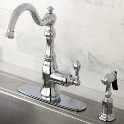 American Classic Gourmetier Single Handle Kitchen Faucet Finish: Polished Chrome