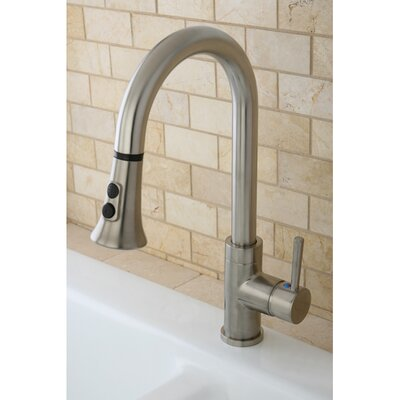 Concord Gourmetier Single Handle Kitchen Faucet with Pull Down Spout