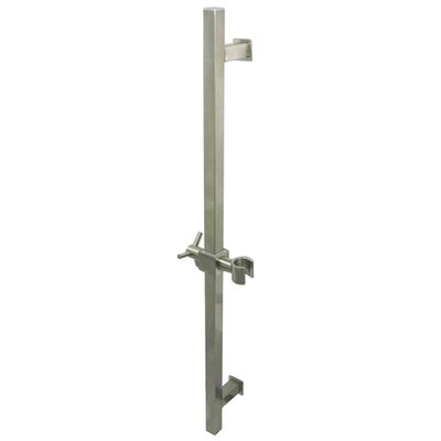 Claremont 22 Square Slide Bar Finish: Satin Nickel