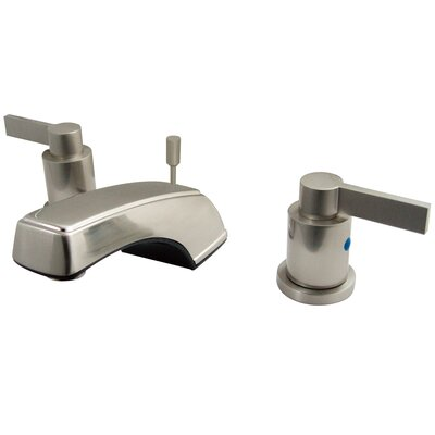NuvoFusion Double Handle Widespread Bathroom Faucet with Pop-Up Drain