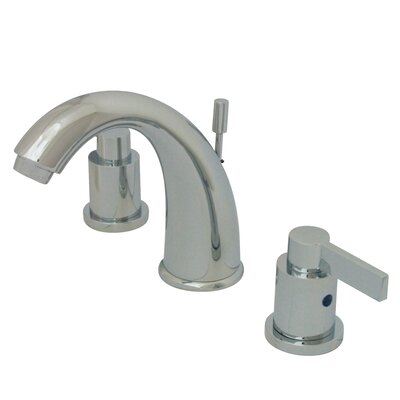 NuVo Fusion Double Handle Widespread Bathroom Sink Faucet with Retail Pop-up Finish: Polished Chrome