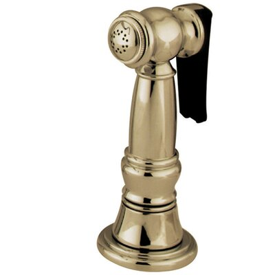 Made to Match Gourmetier Kitchen Faucet Spray Finish: Polished Brass