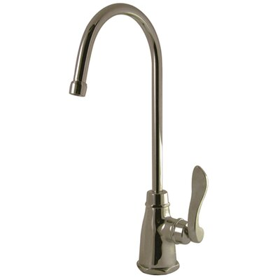 NuWave Gourmetier Single Handle French Low-Lead Cold Water Filtration Faucet Finish: Satin Nickel