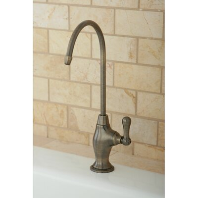 Restoration Gourmetier Single Handle Restoration Water Filtration Faucet Finish: Vintage Brass