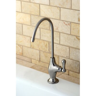 Restoration Gourmetier Single Handle Restoration Water Filtration Faucet Finish: Satin Nickel