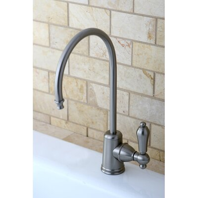 Restoration Single Handle Kitchen Faucet Finish: Satin Nickel
