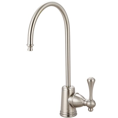 Vintage Gourmetier Single Handle Water Filtration Faucet Finish: Satin Nickel