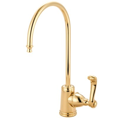 Royale Gourmetier Single Handle Water Filtration Faucet Finish: Polished Brass