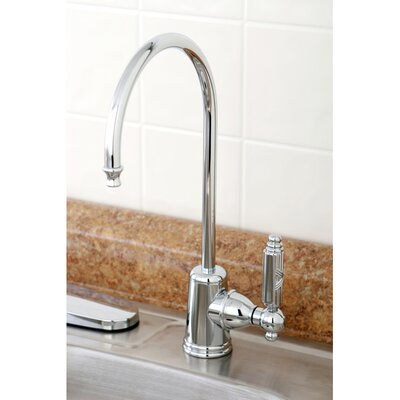 Georgian Single Handle Kitchen Faucet Finish: Polished Chrome