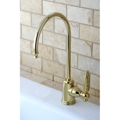 Georgian Gourmetier Single Handle Water Filtration Faucet Finish: Polished Brass