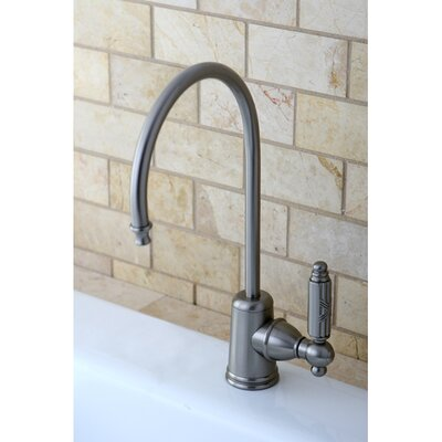 Georgian Gourmetier Single Handle Water Filtration Faucet Finish: Satin Nickel