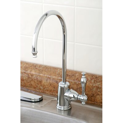 Naples Gourmetier Single Handle Kitchen Faucet Finish: Polished Chrome