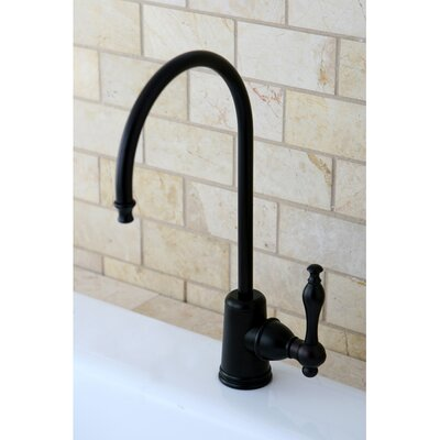Naples Gourmetier Single Handle Kitchen Faucet Finish: Oil Rubbed Bronze