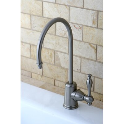 Naples Gourmetier Single Handle Water Filtration Faucet Finish: Satin Nickel