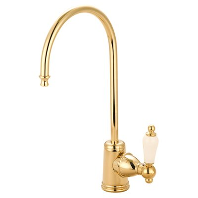 Victorian Gourmetier Single Handle Water Filtration Faucet Finish: Polished Brass