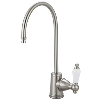 Victorian Gourmetier Single Handle Water Filtration Faucet Finish: Satin Nickel