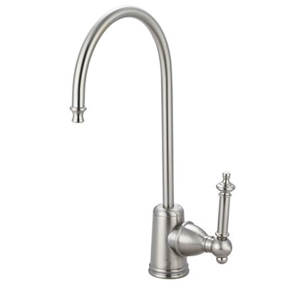 Templeton Gourmetier Single Handle Water Filtration Faucet Finish: Satin Nickel
