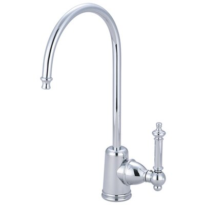 Templeton Gourmetier Single Handle Kitchen Faucet Finish: Polished Chrome
