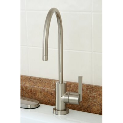 Continental Gourmetier Water Filtration Kitchen Faucet Finish: Satin Nickel