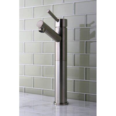 Concord Single Handle Vessel Sink Faucet Finish: Satin Nickel