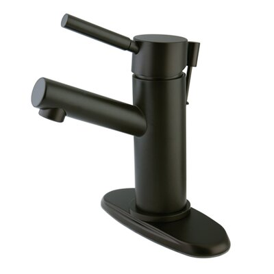 Concord Single Handle Single Hole Bathroom Faucet with Drain Finish: Oil Rubbed Bronze