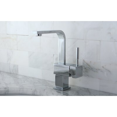 Concord Single Handle Mono Deck Bathroom Faucet with Push-Up Drain Finish: Polished Chrome