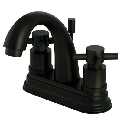Concord Double Handle Centerset Bathroom Faucet with Pop-Up Drain