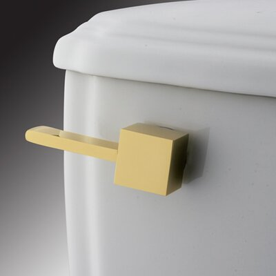 Claremont Toilet Tank Lever Finish: Polished Brass