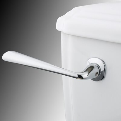 Silver Sage Toilet Tank Lever Finish: Polished Chrome