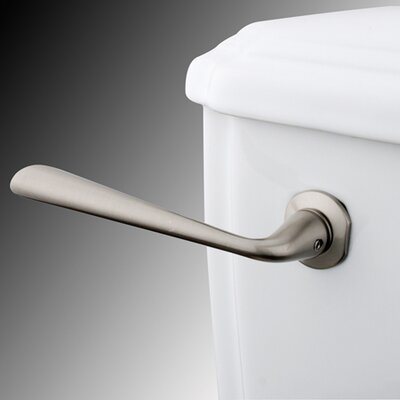 Silver Sage Toilet Tank Lever Finish: Satin Nickel