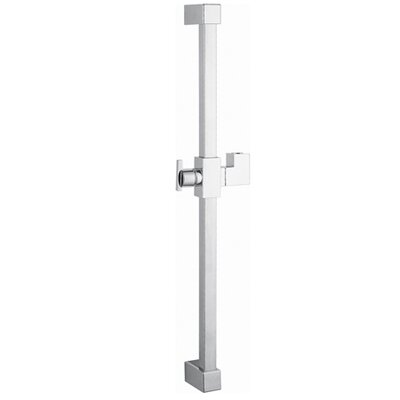 Claremont 23.6 Square Shower Slide Bar Finish: Polished Chrome