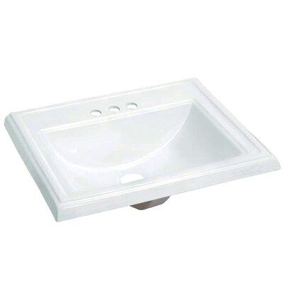Concord Self Rimming Bathroom Sink 4