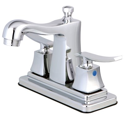 Queensbury Centerset Lavatory Faucet Finish: Polished Chrome