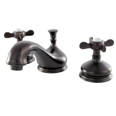 Essex Widespread Lavatory Faucet with Drain Assembly Finish: Oil Rubbed Bronze