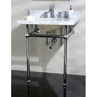 Templeton 12 Console Bathroom Sink Mount FInish: Polished Chrome