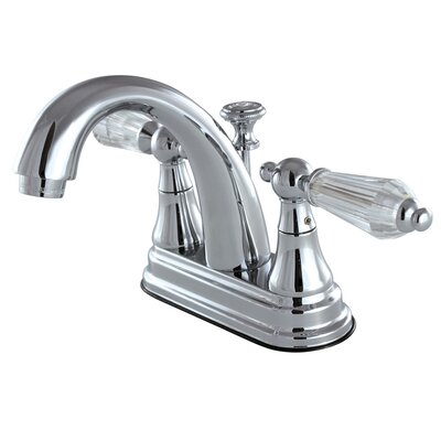 Wilshire Standard Centerset Bathroom Faucet with Drain Assembly Finish: Chrome
