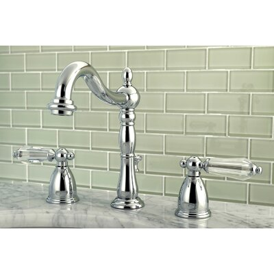 Wilshire Standard Bathroom Faucet with Drain Assembly Finish: Chrome