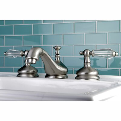Wilshire Standard Bathroom Faucet with Drain Assembly Finish: Satin nickel