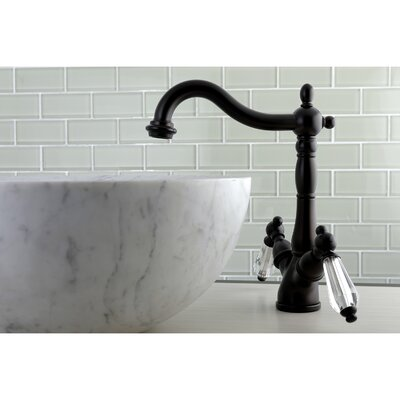 Wilshire Standard Bathroom Faucet with Drain Assembly Finish: Oil rubbed bronze