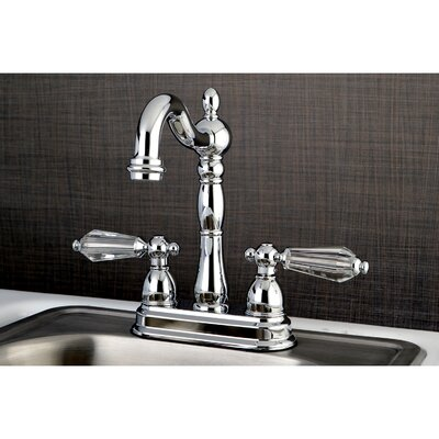 Wilshire Bar Faucet Finish: Chrome