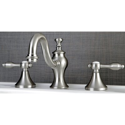 Tudor Standard Bathroom Faucet with Drain Assembly Finish: Satin Nickel