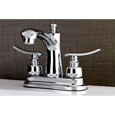 Jamestown Standard Centerset Bathroom Faucet with Drain Assembly Finish: Chrome