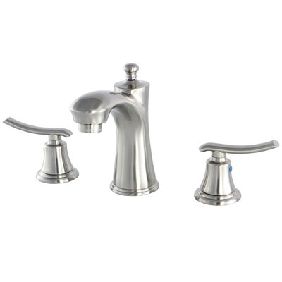 Jamestown Standard Bathroom Faucet with Drain Assembly Finish: Satin nickel