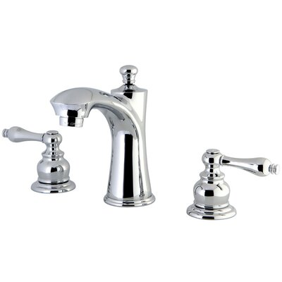 Victorian Lavatory Faucet Double Handle Finish: Polished Chrome