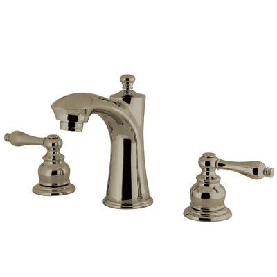 Victorian Lavatory Faucet Double Handle Finish: Satin Nickel